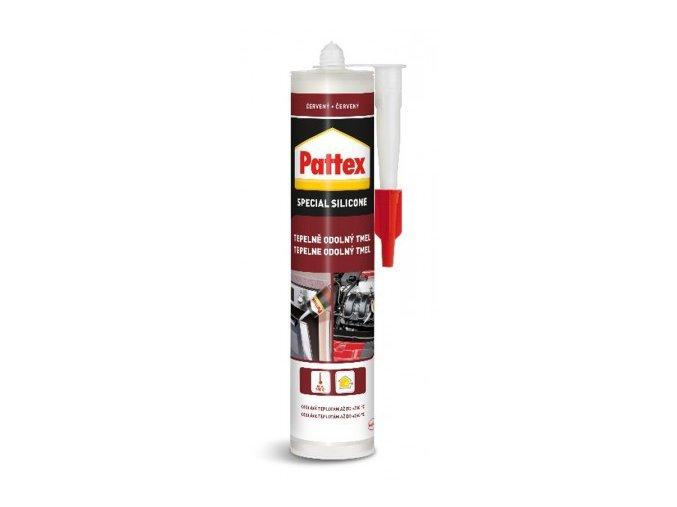 Pattex Tepelně odolný tmel - 280 ml červený
