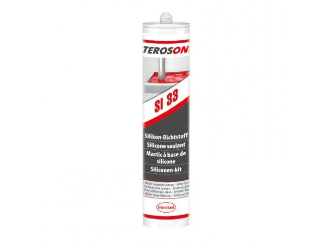 Teroson SI 34 - 310 ml transparentní silikonový tmel