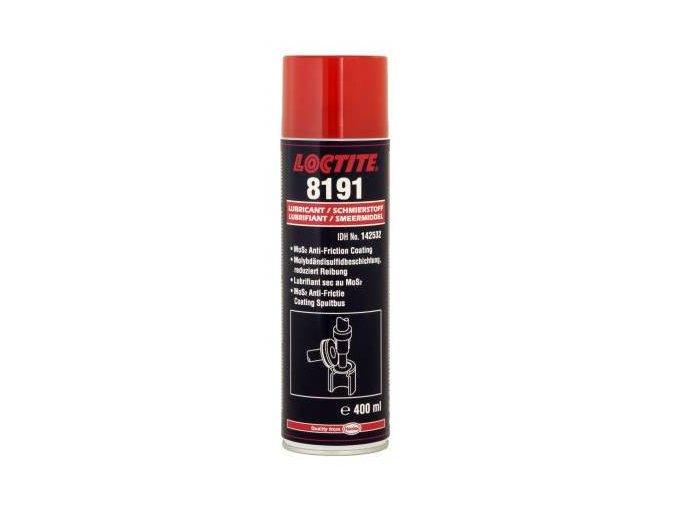 Loctite LB 8191 - 400 ml suchý mazací film s MoS2