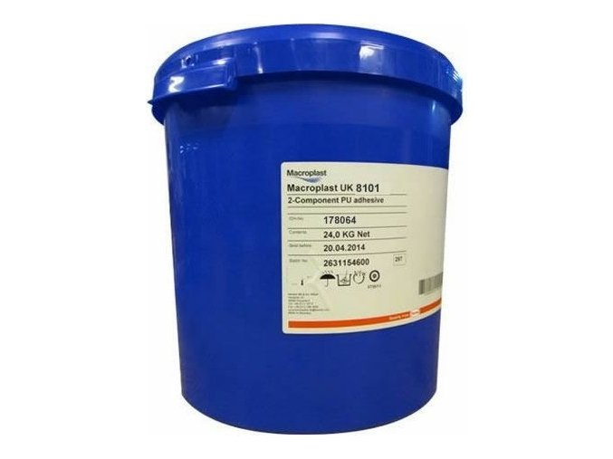 Loctite UK 8101 - 24 kg polyuretanové lepidlo Macroplast