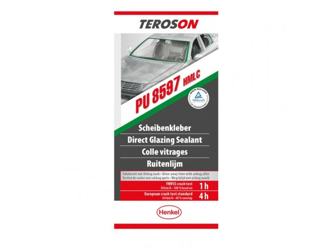 Teroson PU 8597 HMLC - 200 ml tmel pro přímé zasklívání