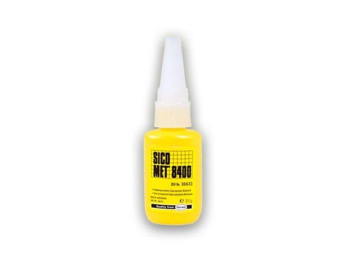 Sicomet 8400 - 20 g vteřinové lepidlo