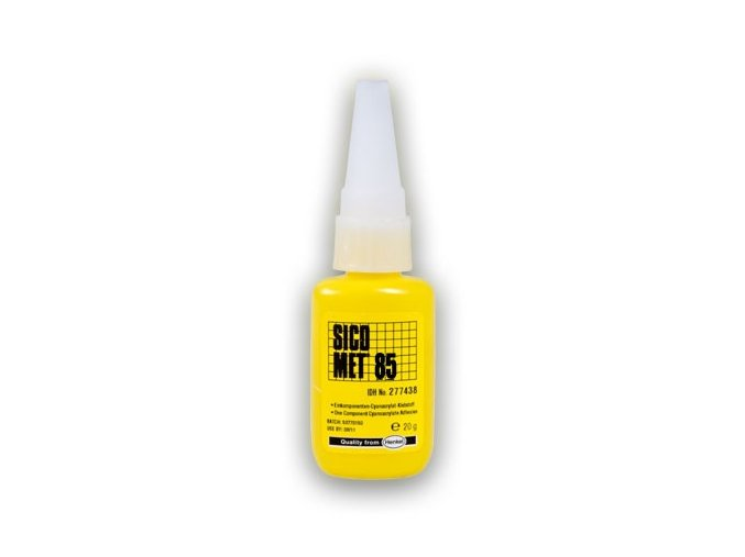 Sicomet 85 - 20 g vteřinové lepidlo