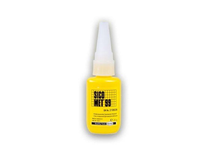 Sicomet 99 - 20 g vteřinové lepidlo