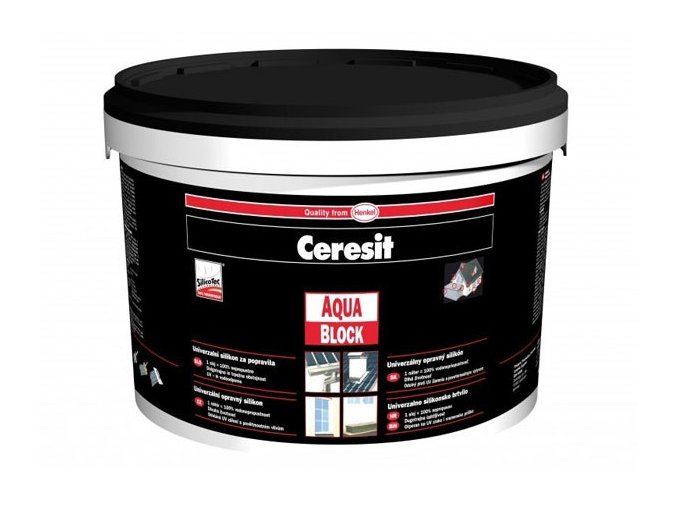 Ceresit Aquablock kbelík - 1 kg šedá