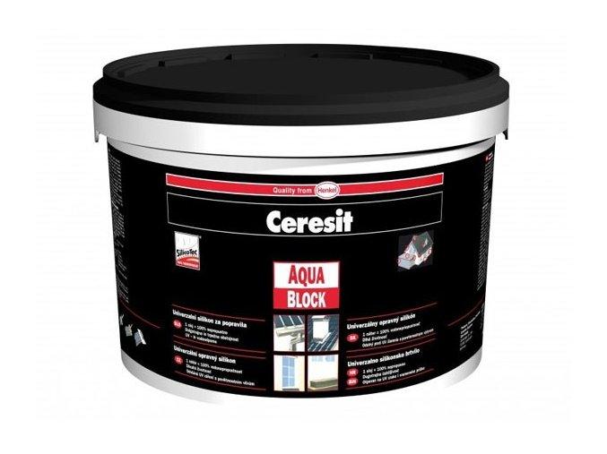 Ceresit CP 30 Aquablock kbelík - 5 kg černá