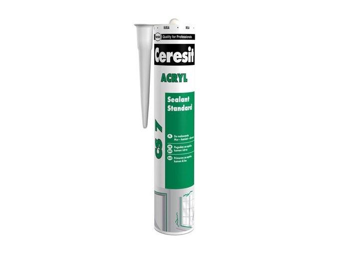 Ceresit CS 7 - 280 ml akrylátový tmel bílý