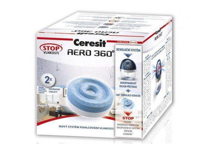 Ceresit Stop Vlhkosti AERO 360° náhradní tablety 2v1 - 2x450g