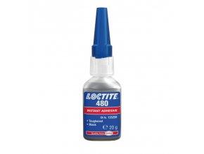 Loctite 480 - 20 g vteřinové lepidlo černé