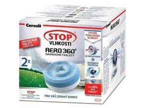 Ceresit Stop Vlhkosti AERO 360° náhradní tablety 3v1 luční kvítí - 4x450g