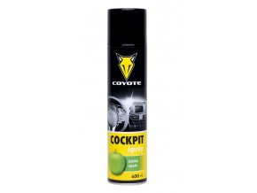 Coyote Cockpit spray Jablko - 400 ml