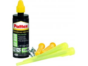 Pattex CF 850 - 165 ml chemická kotva promo set