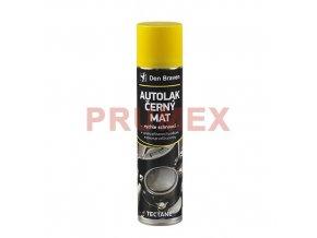 Tectane Autolak černý mat - 400 ml černá, sprej