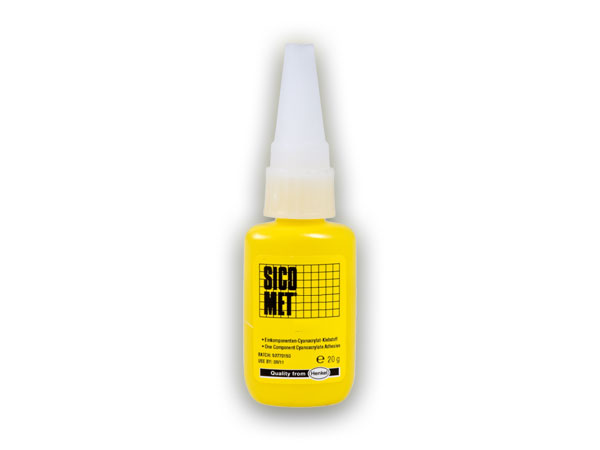 Sicomet 5132 - 20 g vteřinové lepidlo