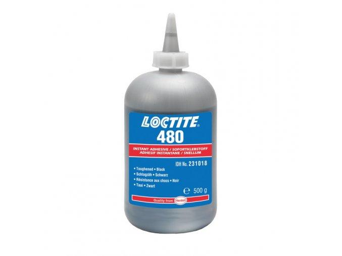 Loctite 480 - 500 g sekundové lepidlo čierne