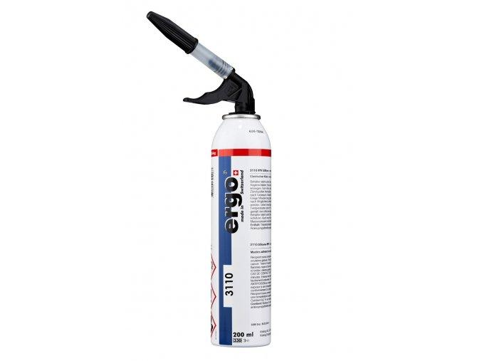 Ergo 3110 - 200 ml RTV silikon černá (MEKO-free)