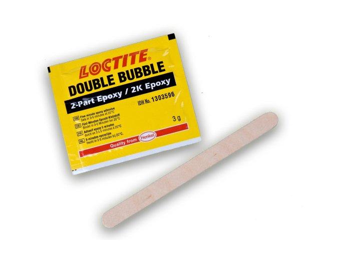 Loctite EA Double Bubble - 3 g dvojzložkové epoxidové lepidlo na rýchle opravy