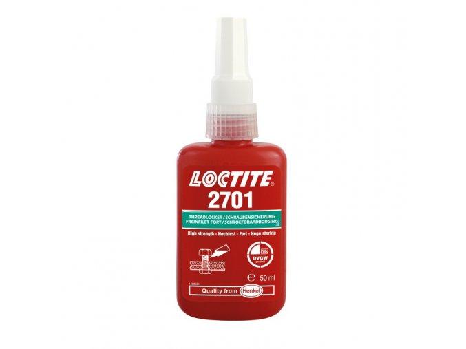 Loctite 2701 - 50 ml zaisťovač závitov, vysoká pevnosť