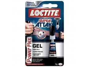 Loctite Super Attak Power Flex gél - 3 g