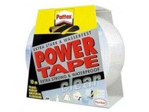 Pattex Power Tape transparentné - 10 m
