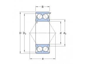 Ložisko 3205 A/C3  SKF