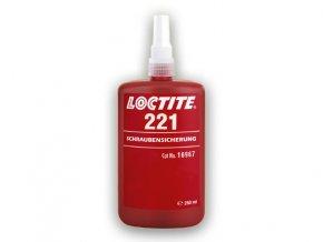 Loctite 221 - 250 ml zaisťovač závitov, nízka pevnosť