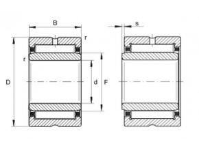 Ložisko NKI38/30-XL  INA