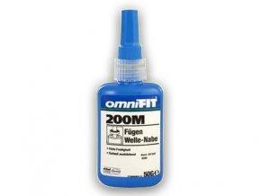 Omnifit 200 M - 50 g zaisťovač závitov, vysoká pevnosť