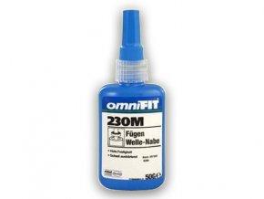 Omnifit 230 M - 50 g zaisťovač závitov, vysoká pevnosť