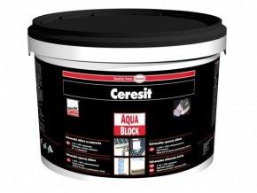 Ceresit Aquablock kbelík - 1 kg černá