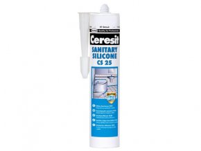 Ceresit CS 25 - 280 ml silikón sanitár bílá