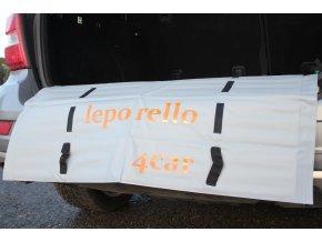 Podložka leporello4car 100/65 Arancione
