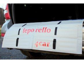 Podložka leporello4car 95/84 Rosso