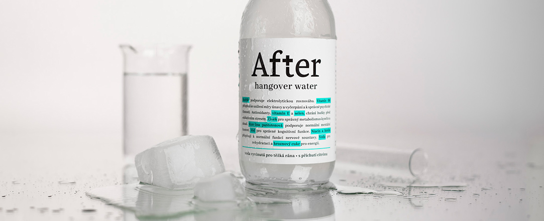 After Hangover Water