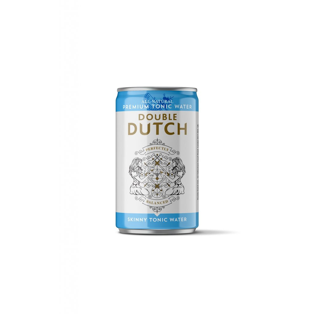 double dutch slimline tonic water plech