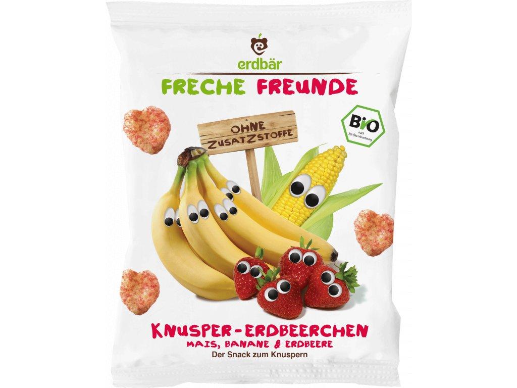 4260249141667 BIO Křupky Kukuřice, banán a jahoda 10x, 12m 25g
