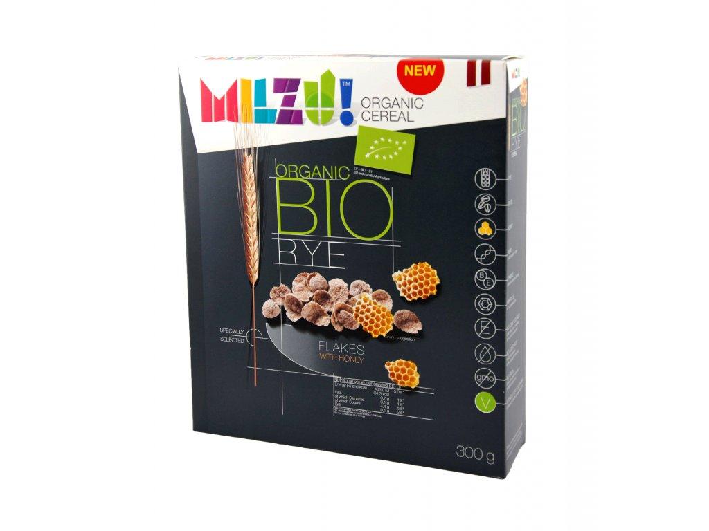 PMIL455 Milzu BIO Žitné s medem (300g)