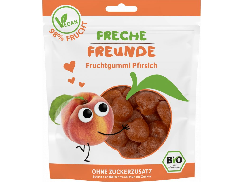 Freche Freunde - BIO Ovocné želé Broskev 30g