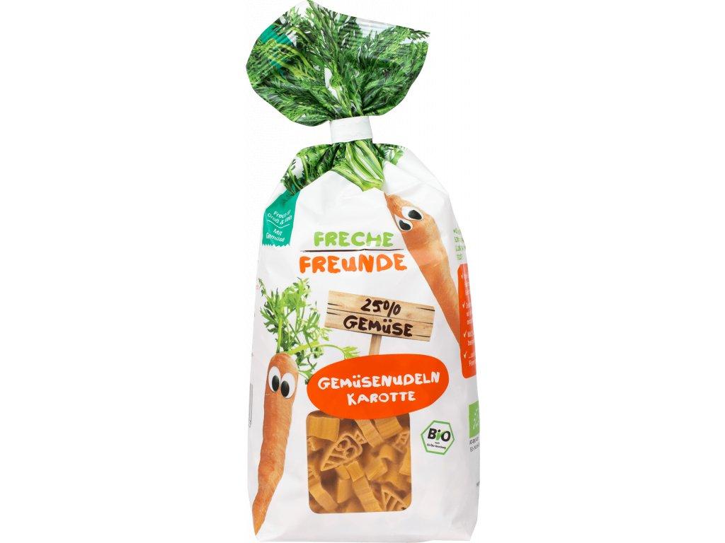 Freche Freunde - BIO Mrkvové těstoviny 300g