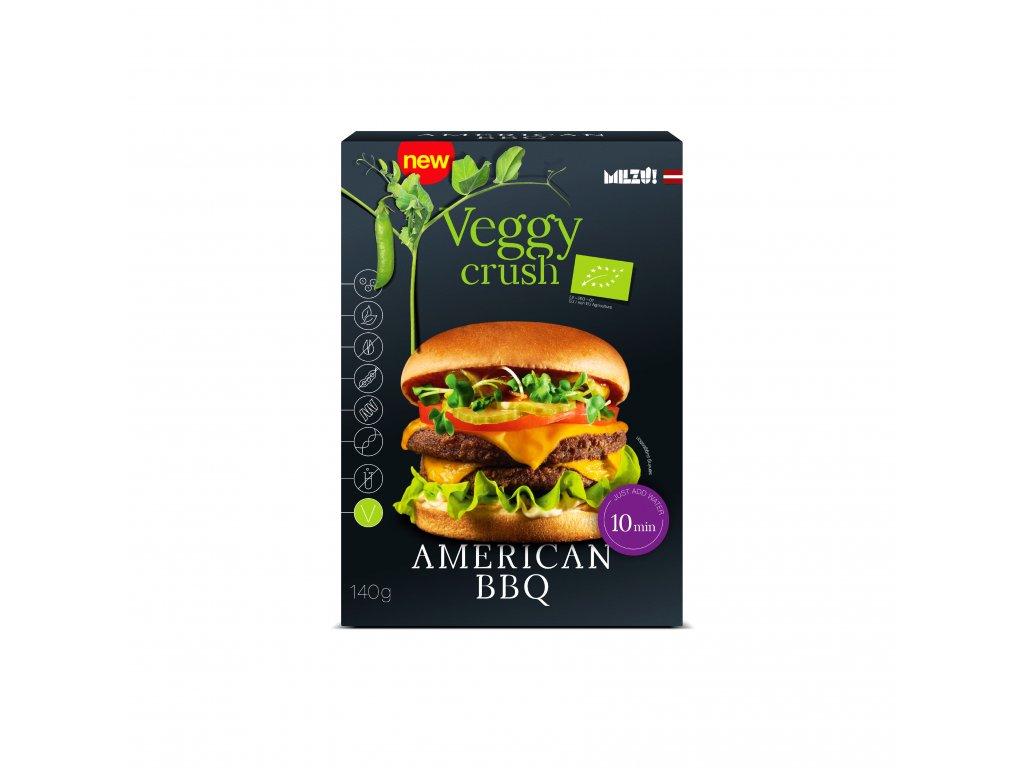 Milzu! BIO Veggy Crush americký burger (sypká směs) 140g