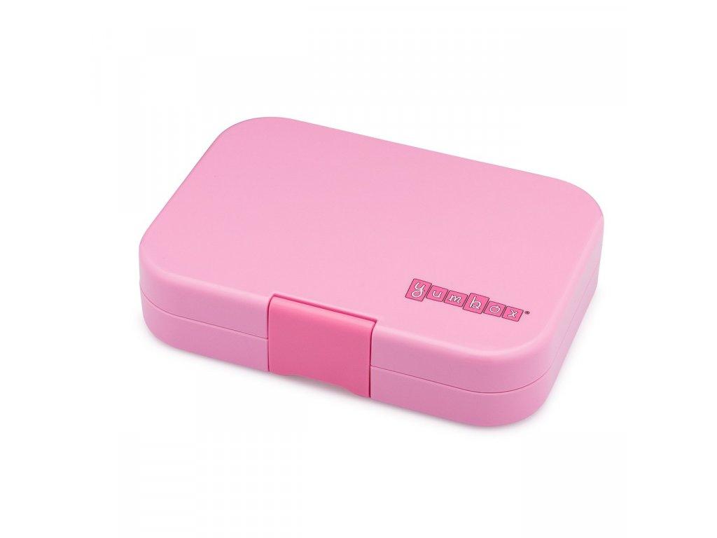 Yumbox Bento Lunch Box Stardust Pink closed 2000x