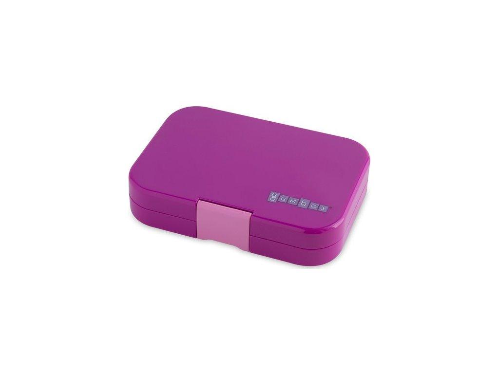 Yumbox svačinový box Panino fialový