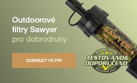 Outdoorové filtry Sawyer