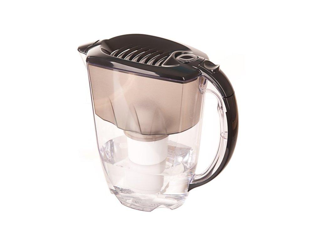 Filtrační konvice Aquaphor Prestiž (černá) + 2 filtrační patrony