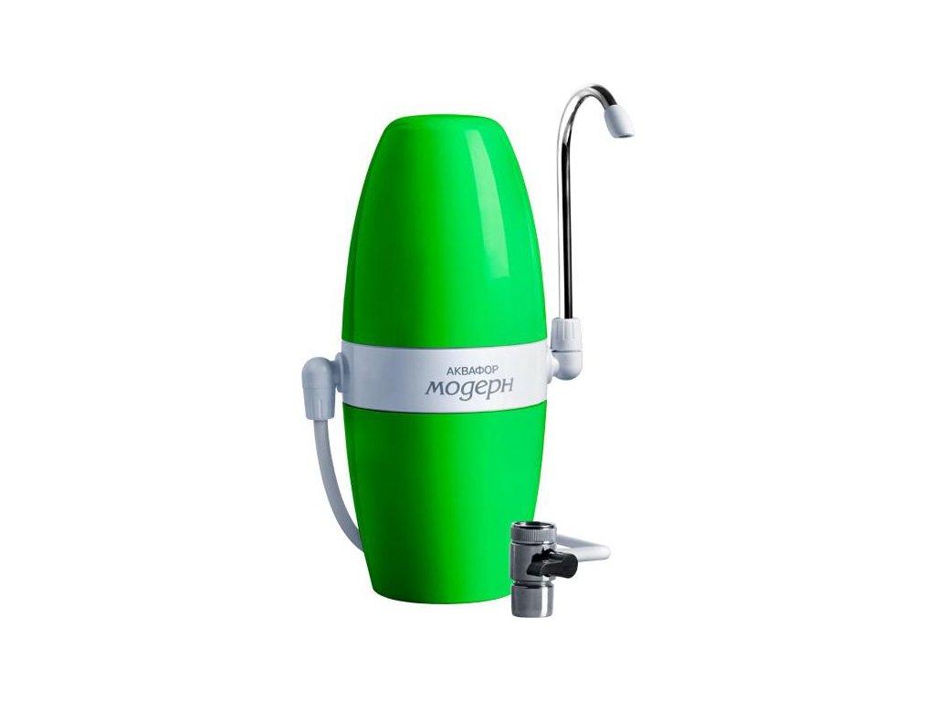 Filtr na kohoutek Aquaphor MODERN (zelený)