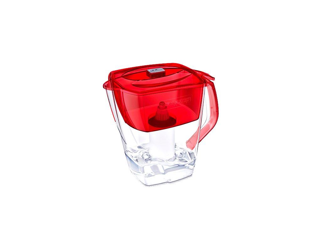 BARRIER Grand Neo filtrační konvice na vodu - červená 2 filtrační patrony