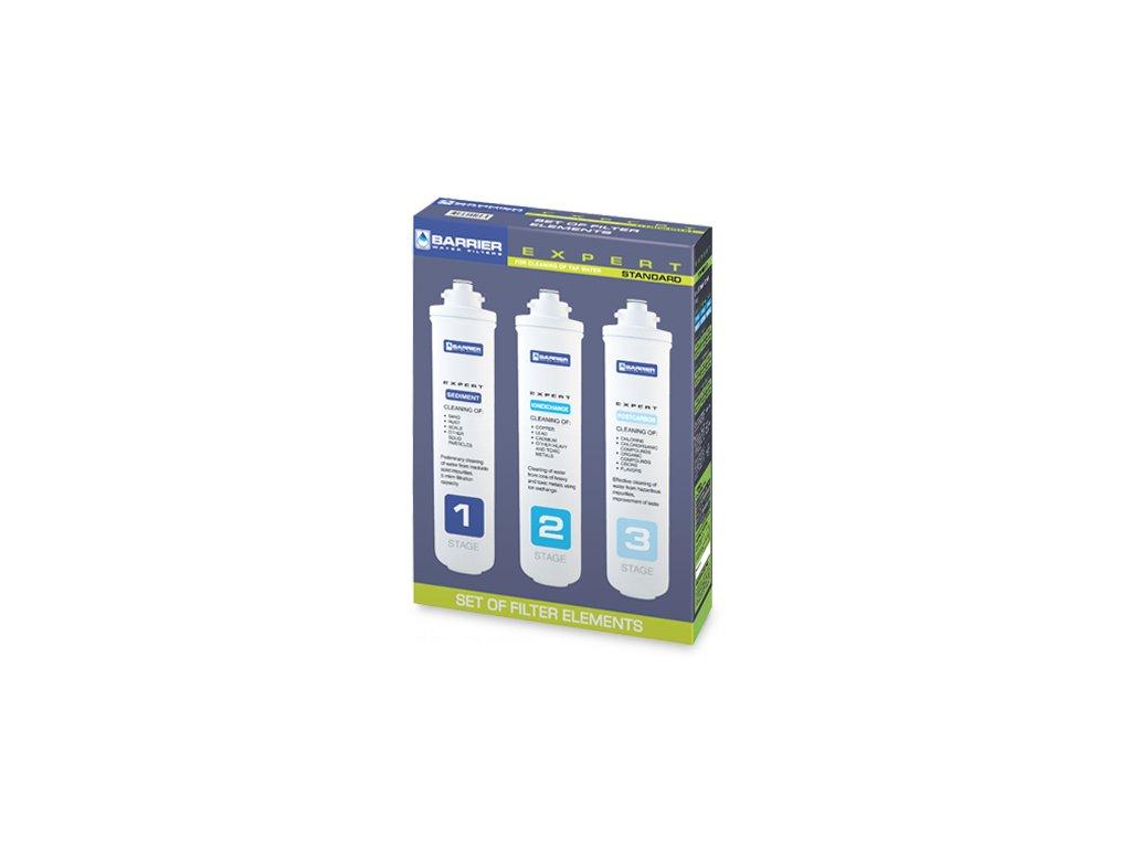 Filtrační vložky pro filtr pod dřez BARRIER Expert Standart