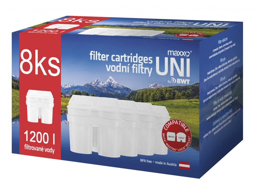 MAXXO UNI vodní filtry 8ks