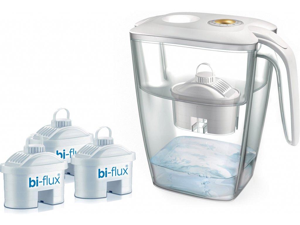 Laica XXL Firenze zlatá + 3x filtr Biflux