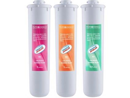Filtrační vložky pro Kristall B (baktericidní), sada